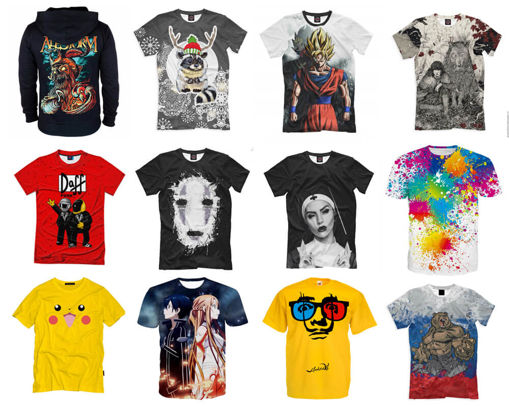 39311db0a721f Печать на футболках, Футболки на заказ в Москве